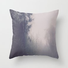 Around the Corner and a Little Beyond Throw Pillow