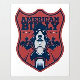 American Bully Art Print