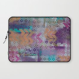 Pink and salmon arrows Laptop Sleeve