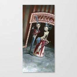 Raven & Ria, Ringmaster & Ringmistress Canvas Print
