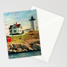 Nubble Light Stationery Cards