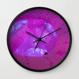 Pinklight Wall Clock