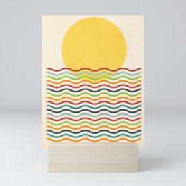Morning Sunrise Mini Art Print