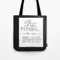 johnny cash Tote Bags featuring Johnny Cash by Kami Sparks