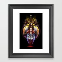 The Blood Maiden Framed Art Print