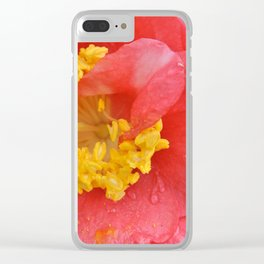Flowers #39 (*Koinonia*) Clear iPhone Case