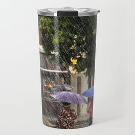 Wet Day in the City Travel Mug