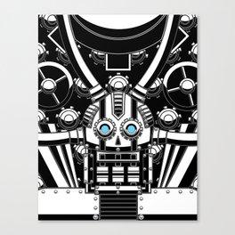 Mechanical Skull Canvas Print