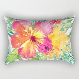 Floral paradise Rectangular Pillow