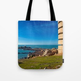 Jersey Coastal Scenery Tote Bag