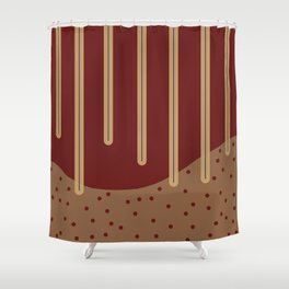 abstract design 2 Shower Curtain