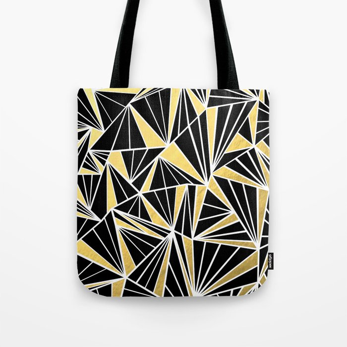 Ab Fan Zoom Gold Tote Bag