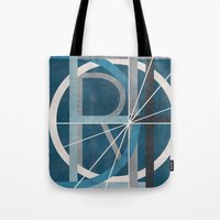 detroit Tote Bags featuring Detroit by Katrina Berlin Design