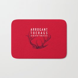 ARROGANT TOERAGS ANONYMOUS Bath Mat