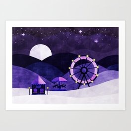 Winter Carnival Art Print