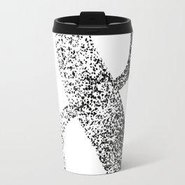 Black and white ampersand symbol Travel Mug