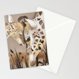 Giraffe #3 Stationery Cards