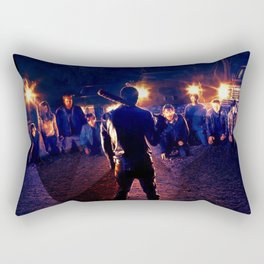 Negan 6x16 Scene Rectangular Pillow
