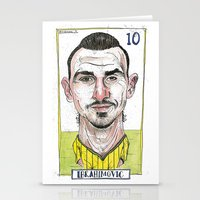 zlatan Stationery Cards featuring ZLATAN by BANDY