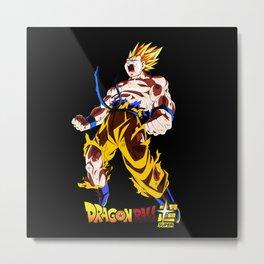 Super Saiyan Goku 00046 Metal Print