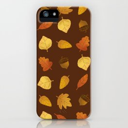 Leaf Lovers in Syrup iPhone Case