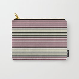 Horizontal stripe.3 Carry-All Pouch