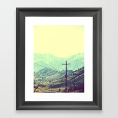 Beautiful Unknown Framed Art Print