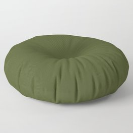 Solid Chive/Herb/Green Pantone Color  Floor Pillow