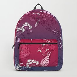 Indian flowers pattern 3 Backpack