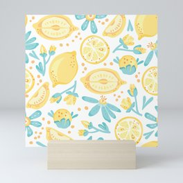 Lemons, Lemons Everywhere Mini Art Print