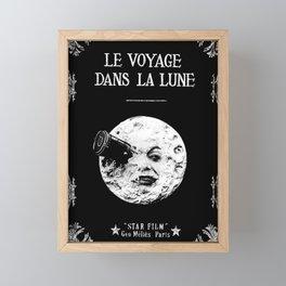 A Trip To The Moon Georges Méliès Framed Mini Art Print