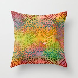 DP050-6 Colorful Moroccan pattern Throw Pillow