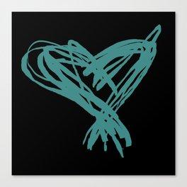 Vee's Heart Canvas Print