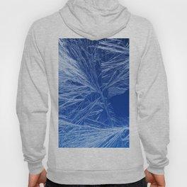 Frost pattern on a window glass Hoody