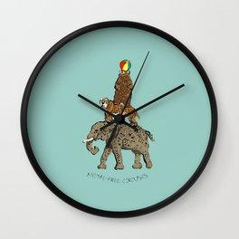 Animal-free circuses Wall Clock