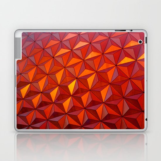 Geometric Epcot Laptop & iPad Skin
