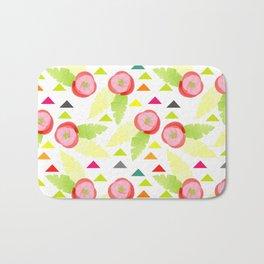 Colorful Spring rolls Bath Mat