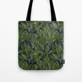 Lily of the Valley Field Tote Bag