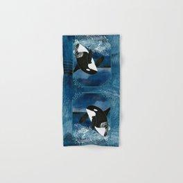 Killer Whale Orca Hand & Bath Towel