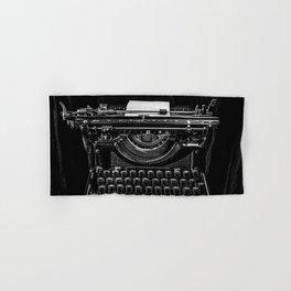 Old Typewriter Hand & Bath Towel