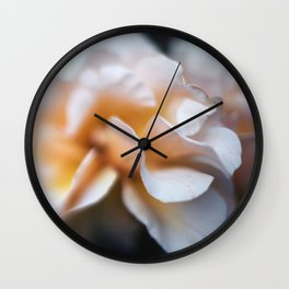Rose Petals Wall Clock