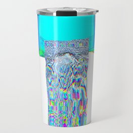 Indigo blast Travel Mug