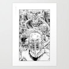 Mad Max Fury Road Art Print