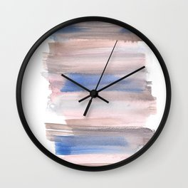 Blue Watercolor Background | Frozen Summer Series 171 Wall Clock