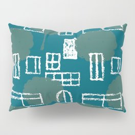 Urban Pastures Geometric Pillow Sham