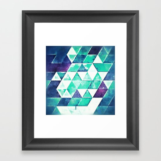 yys blyx Framed Art Print