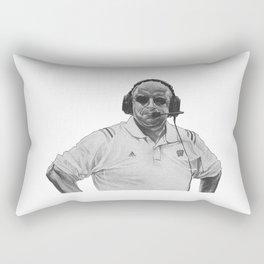 barry alvarez Rectangular Pillow