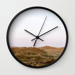 Dunes of Terschelling    Travel photography Fine art Nature Landscape Island Beach Wall Clock