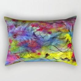 Spring Time Painting  Rectangular Pillow