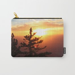 Sunset from the Sandias Carry-All Pouch